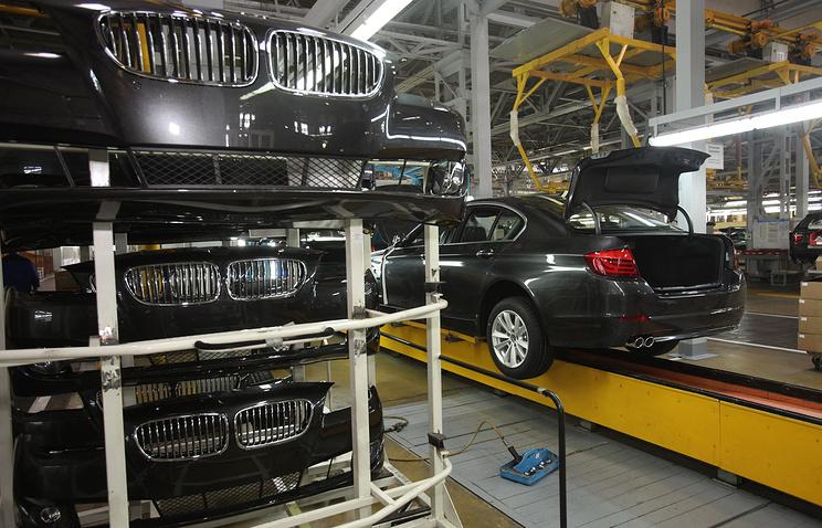 """Сборка BMW 5-й серии на заводе """"Автотор"""""""