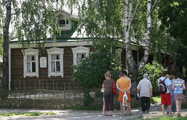 Дом родителей Сергея Есенина в селе Константиново