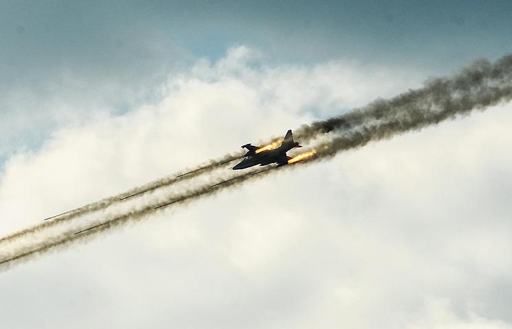 МиГ-31 во время учений