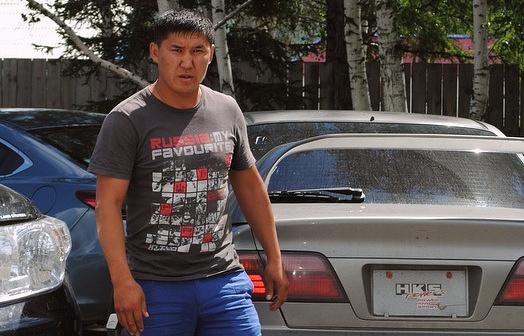 Задержанный Олег Юндунов
