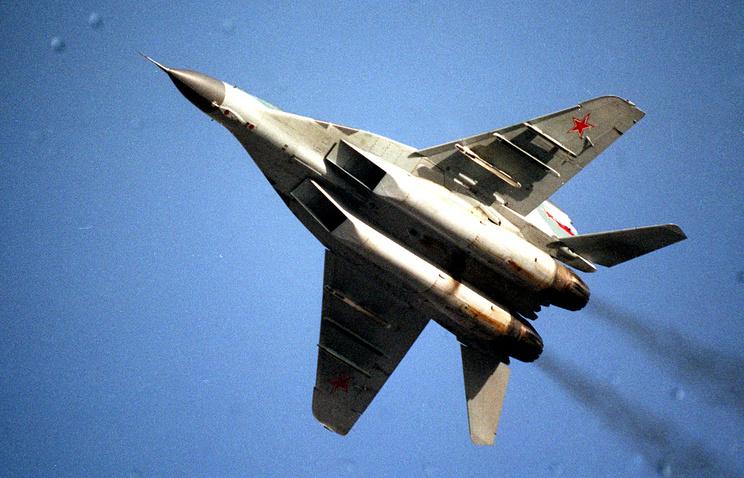 МиГ-29, архивное фото, 1997 год
