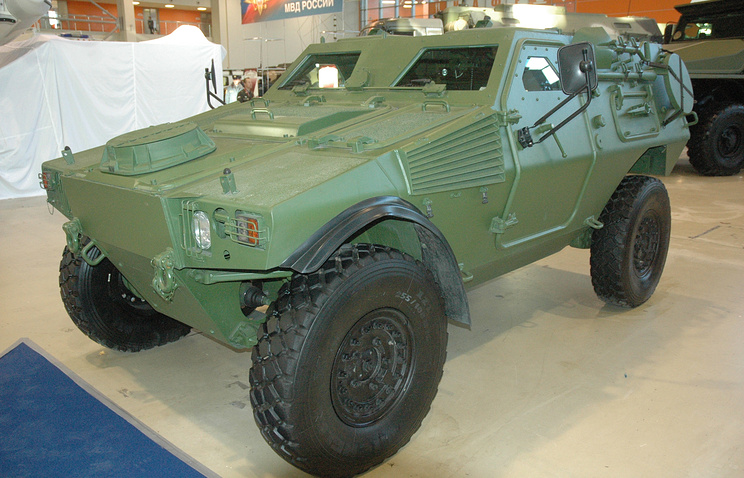 Бронеавтомобиль ASTAIS-VBL