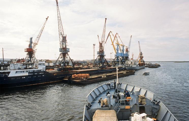 Морской порт Нарьян-Мара
