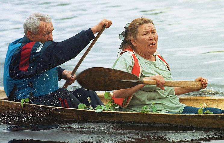 Популяризация национальных видов спорта среди коренных жителей ханты и манси