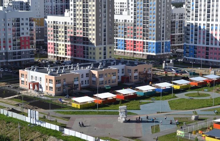 Новый детский сад в районе Академический, Екатеринбург