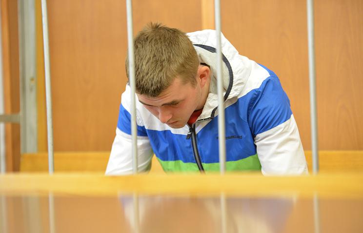 Обвиняемый в двойном убийстве Илья Комаров