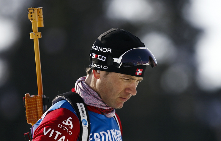 Восьмикратный олимпийский чемпион Уле-Эйнар Бьорндален