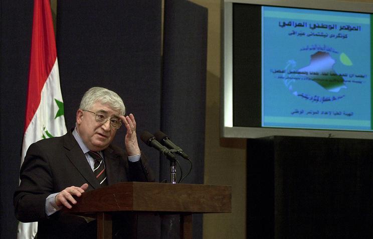 Президент Ирака Фуад Маасум