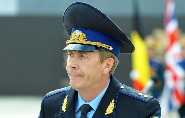 Комендант Кремля генерал-лейтенант Сергей Хлебников
