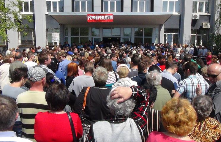 Во время референдума 11 мая