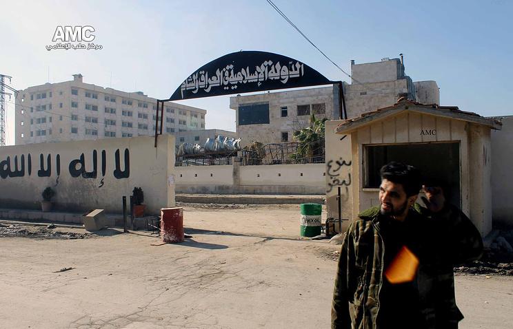 """Штаб-квартира боевиков """"Исламского государства"""" в Алеппо"""