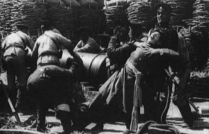 """Кадр из фильма """"Оборона Севастополя"""""""