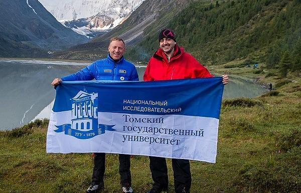 Министр образования и науки РФ Дмитрий Ливанов (слева) и ректор ТГУ Эдуард Галажинский