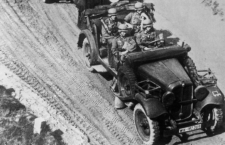 1939 год. Продвижение немецких войск в Польше
