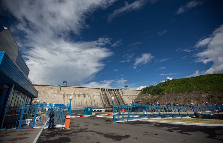Бурейская ГЭС в Амурской области