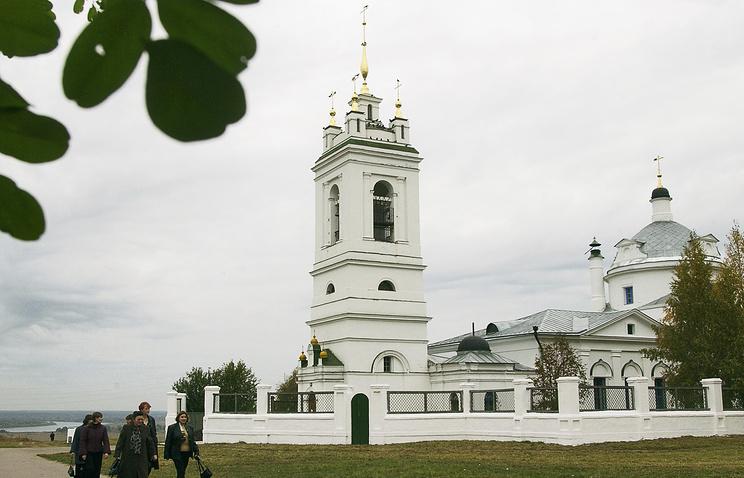 Церковь Казанской иконы Божией Матери в селе Константиново