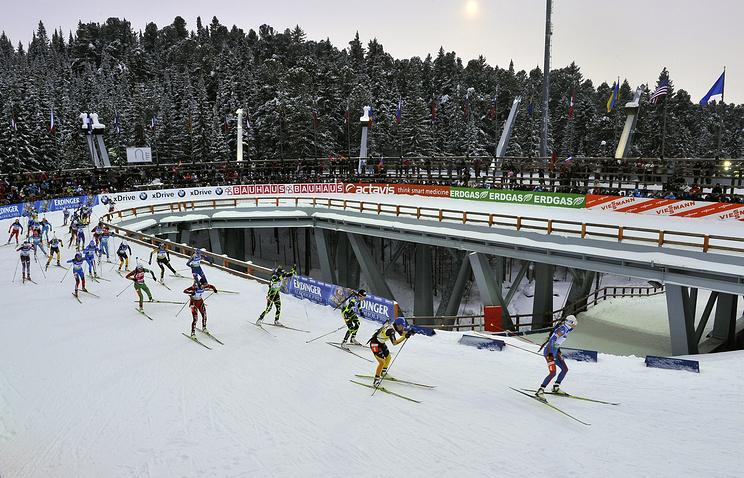 Этап Кубка мира по биатлону в Ханты-Мансийске