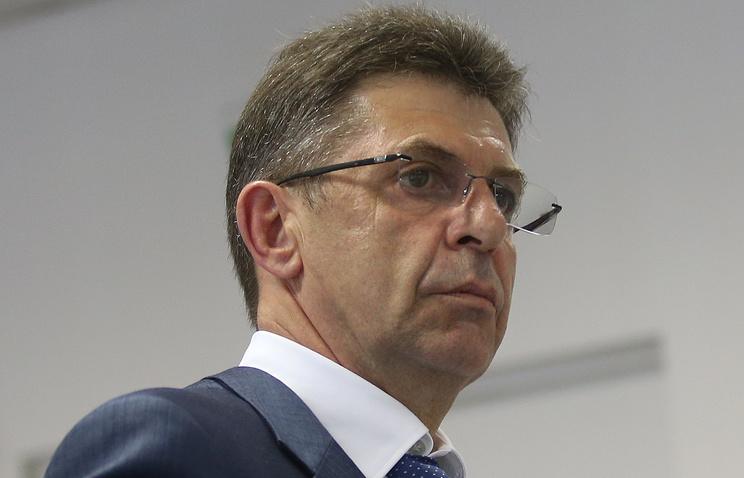 Президент Союза биатлонистов России Александр Кравцов