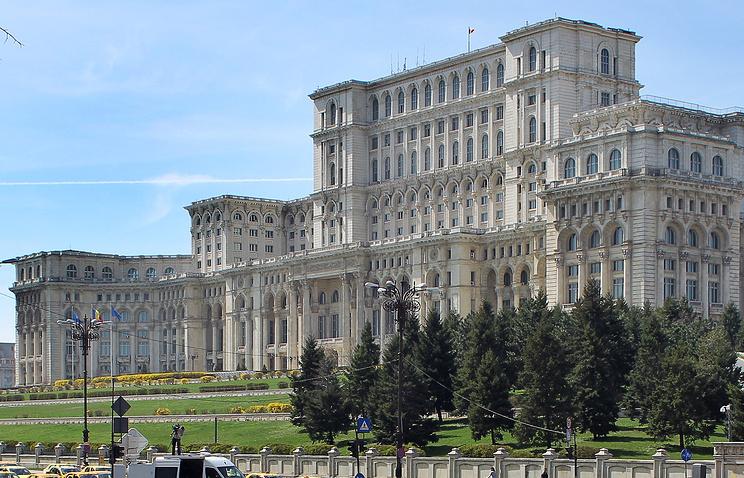 Здание парламента Румынии
