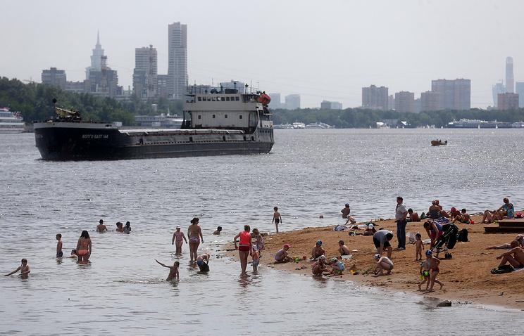 Москва-река в районе Тушино