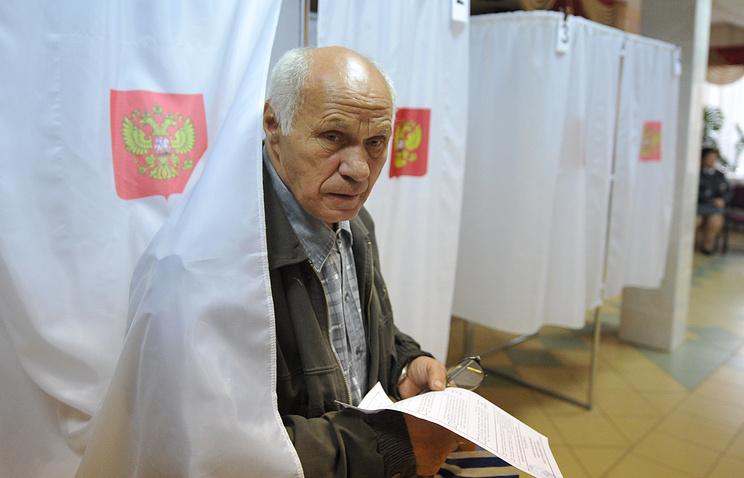На избирательном участке в Орловской области