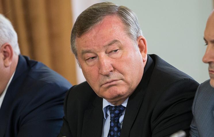 Врио губернатора Алтайского края Александр Карлин