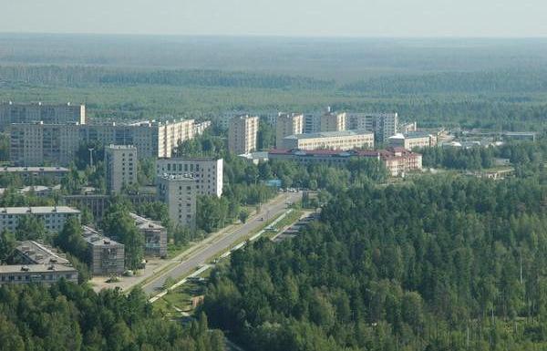 Город Стрежевой в Томской области