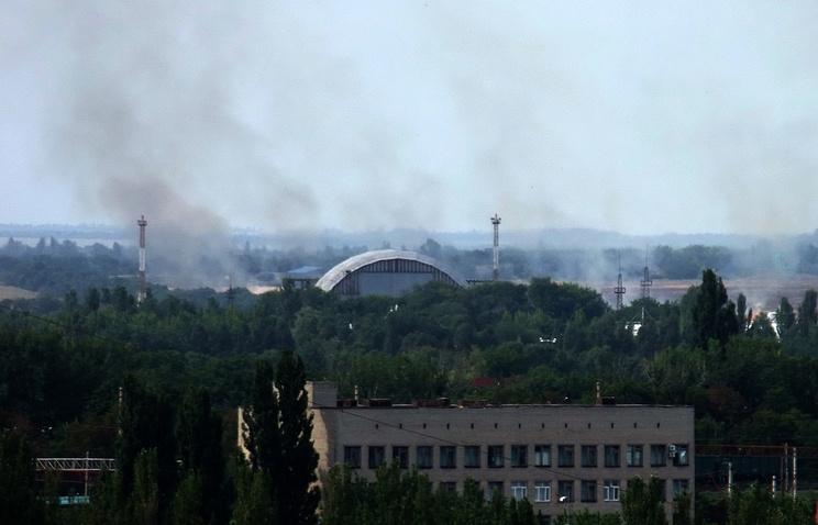 Донецк. 21 июля 2014 года