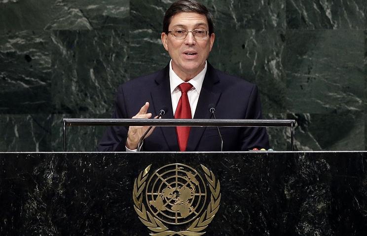 Министр иностранных дел Кубы Бруно Родригес