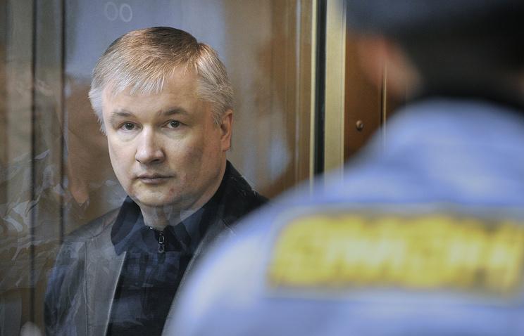 Игорь Изместьев во время оглашения приговора в Мосгорсуде. Декабрь 2010 года
