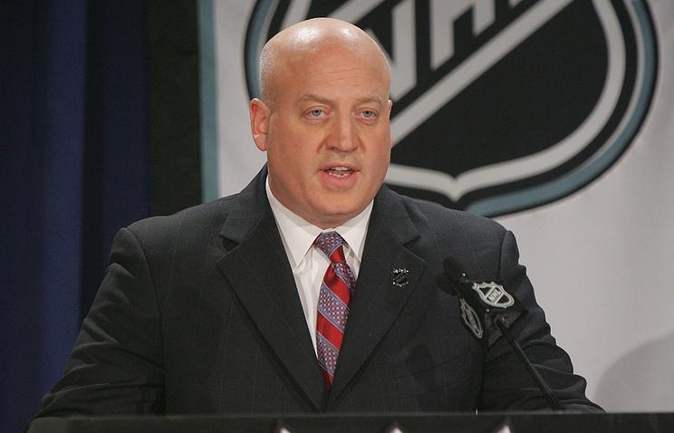 Вице-президент НХЛ Билл Дэйли