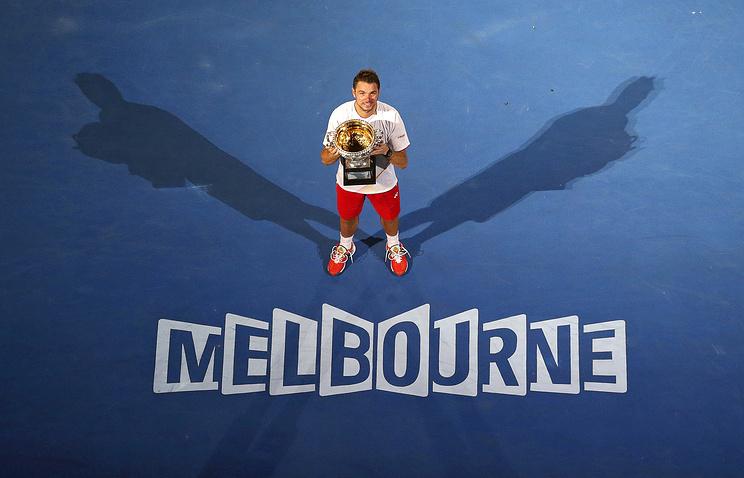 Победитель Australian Open-2014 Санислас Вавринка