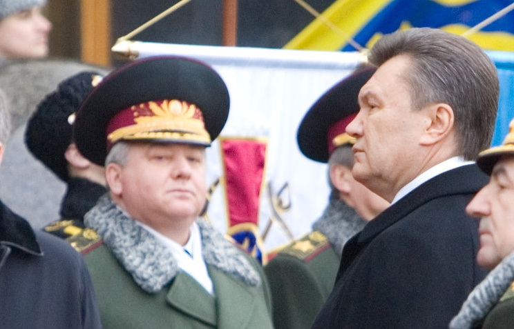 Александр Кихтенко и Виктор Янукович, 2010 год