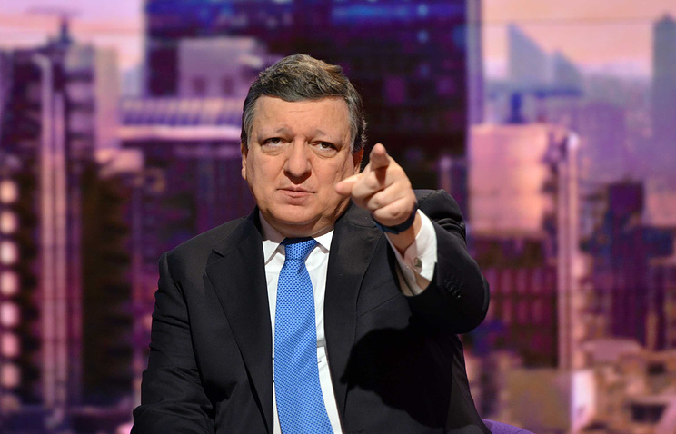 Председатель Еврокомиссии Жозе Мануэл Баррозу