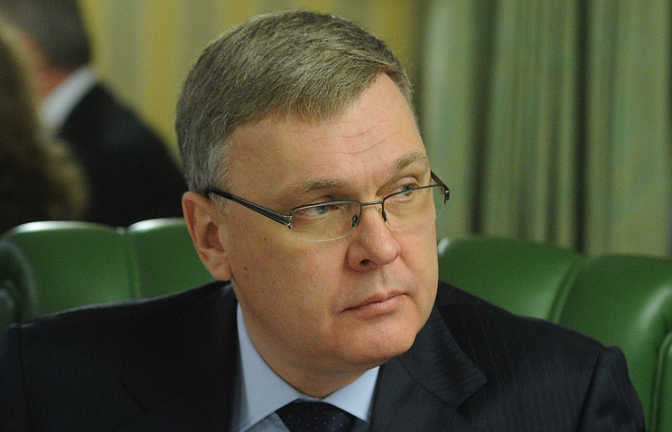 Заместитель главы Минстроя Юрий Рейлья