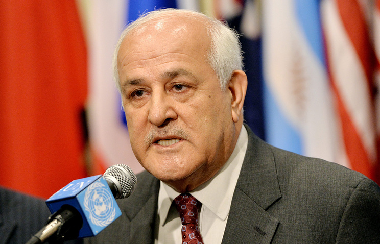 Постоянный наблюдатель Государства Палестины при ООН Рияд Мансур