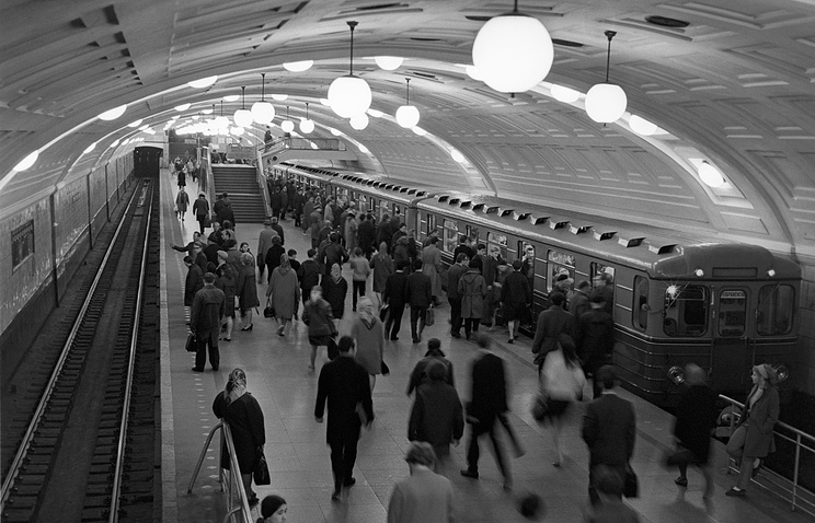 Станция метро «Библиотека имени В.И.Ленина», 1971 год
