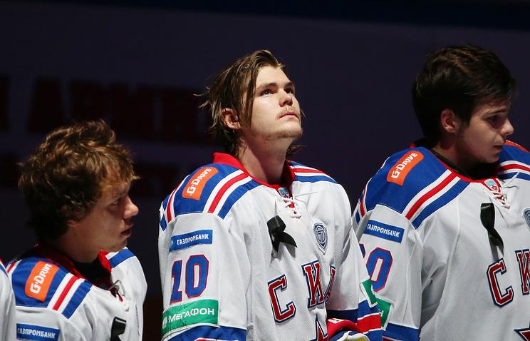Виктор Тихонов перед матчем ЦСКА - СКА
