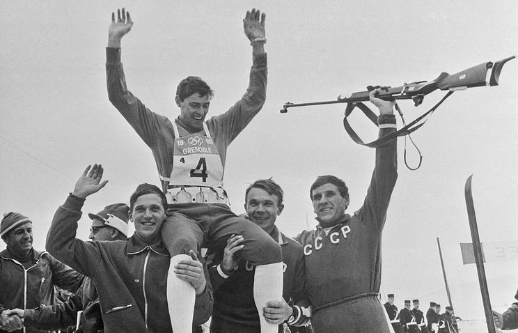 В.Гундарцев, А.Тихонов, В Маматов и Н.Пузанов, 1968 год
