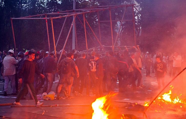 Пожар в Доме профсоюзов в Одессе. 2 мая 2014 год