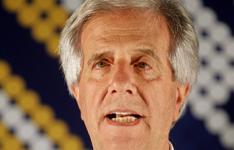 Президент Уругвая Табаре Васкес