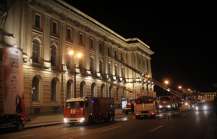 Пожар в Академии художеств Санкт-Петербурга, 10 апреля 2014 года