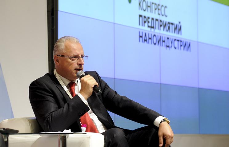 Гендиректор ФИОП Роснано Андрей Свинаренко