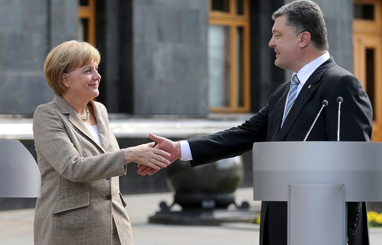 Визит канцлера Германии Ангелы Меркель в Киев