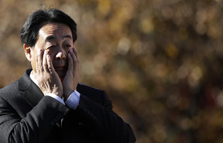 Лидер Демократической партии Японии (ДПЯ) Банри Каиэда