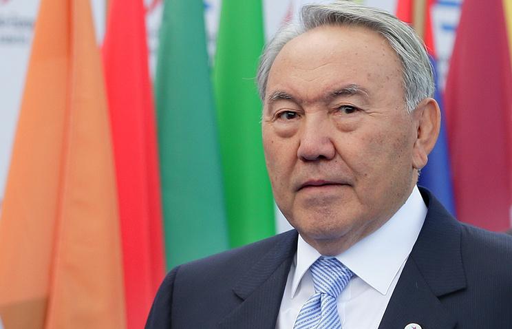 Президент Казахстана Нурсултан Назарбаев