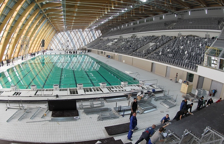 Дворец водных видов спорта в Казане