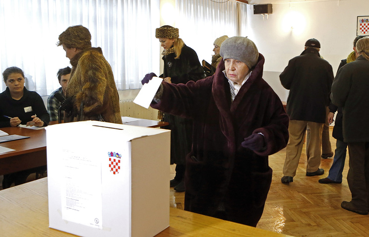 Голосование на выборах президента Хорватии. 28.12.2014