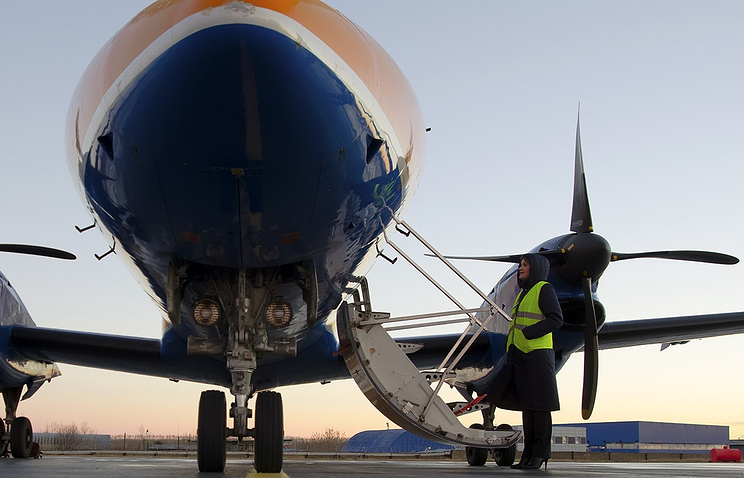 "Embraer 120 авиакомпании ""Руслайн"""
