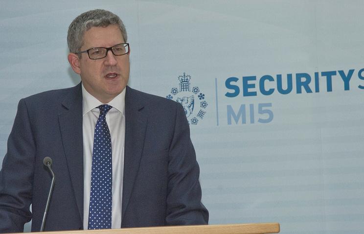 Глава Британской службы безопасности Эндрю Паркер
